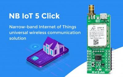 NB IoT 5 Click
