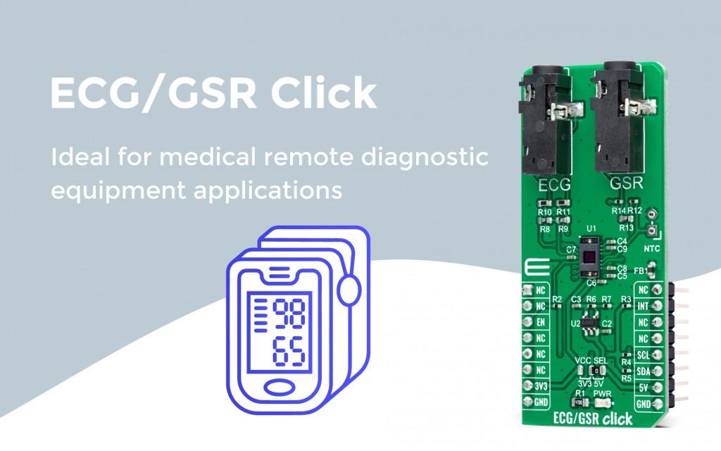 ECG GSR Click