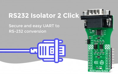 RS232 Isolator 2 Click