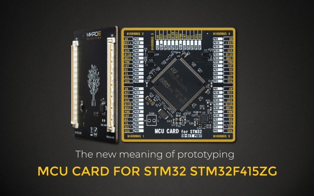 MCU CARD FOR STM32 STM32F415ZG