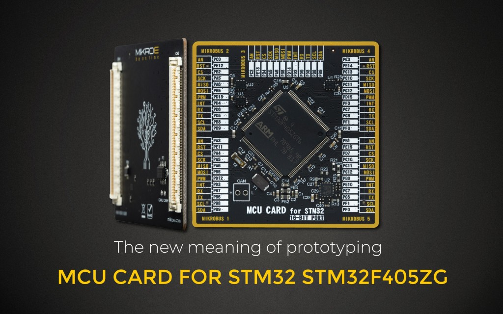 MCU CARD FOR STM32 STM32F405ZG