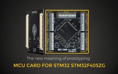 MCU CARD FOR STM32 STM32F405ZG