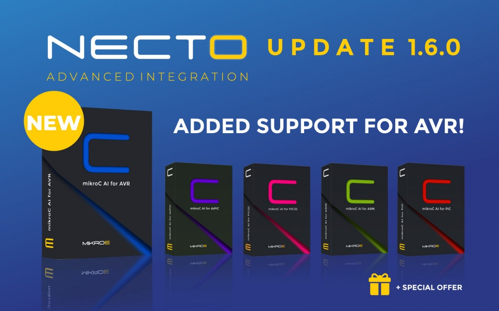 NECTO Studio UPDATE 1.6.0