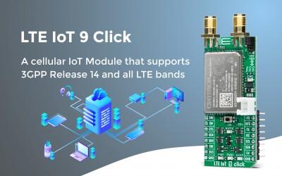LTE IoT 9 Click