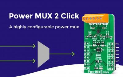 Power MUX 2 Click