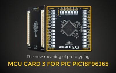 MCU CARD 3 FOR PIC PIC18F96J65