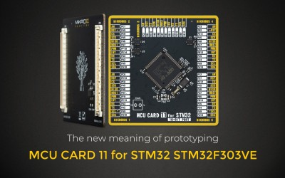 MCU CARD 11 for STM32 STM32F303VE