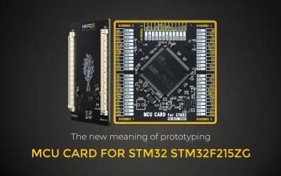 MCU CARD for STM32 STM32F215ZG