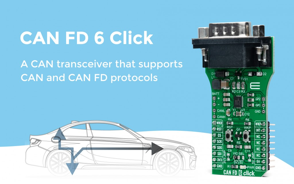 CAN FD 6 Click