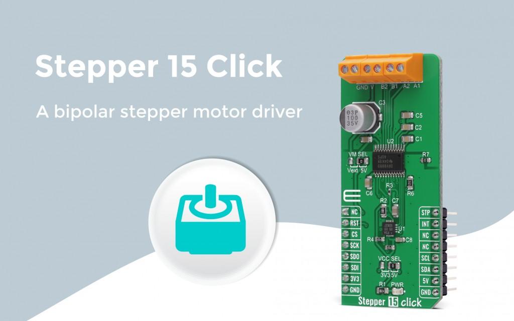 Stepper 15 Click