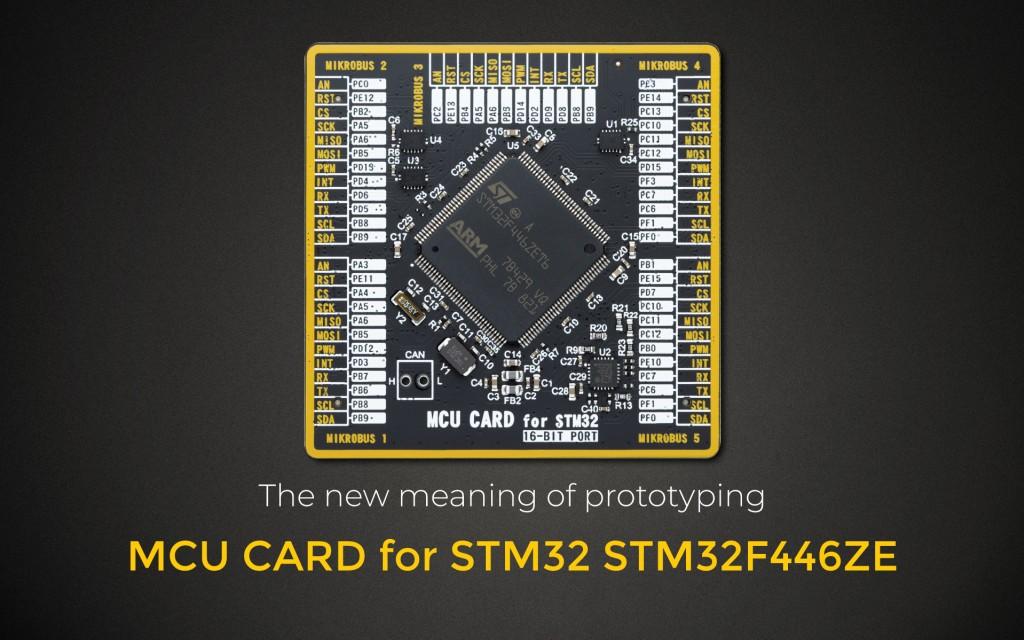 MCU CARD for STM32 STM32F446ZE