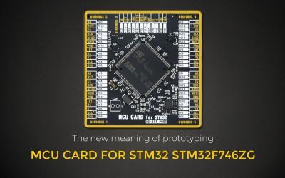 MCU CARD FOR STM32 STM32F746ZG