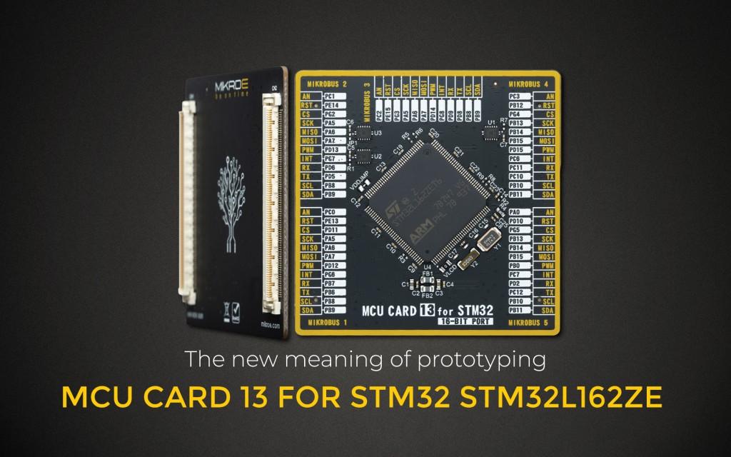 MCU CARD 13 FOR STM32 STM32L162ZE