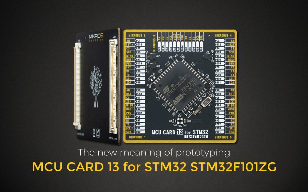 MCU CARD 13 for STM32 STM32F101ZG