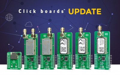 6 SUB-1 GHZ CLICK BOARDS™ Update