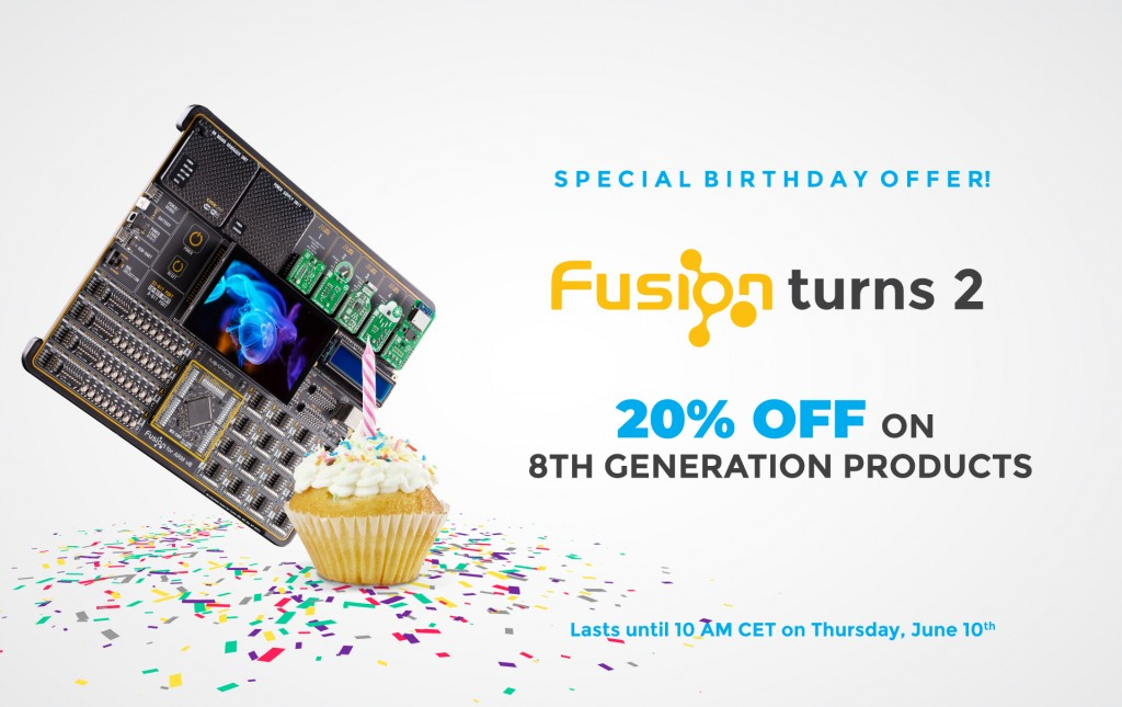FUSION TURNS TWO!