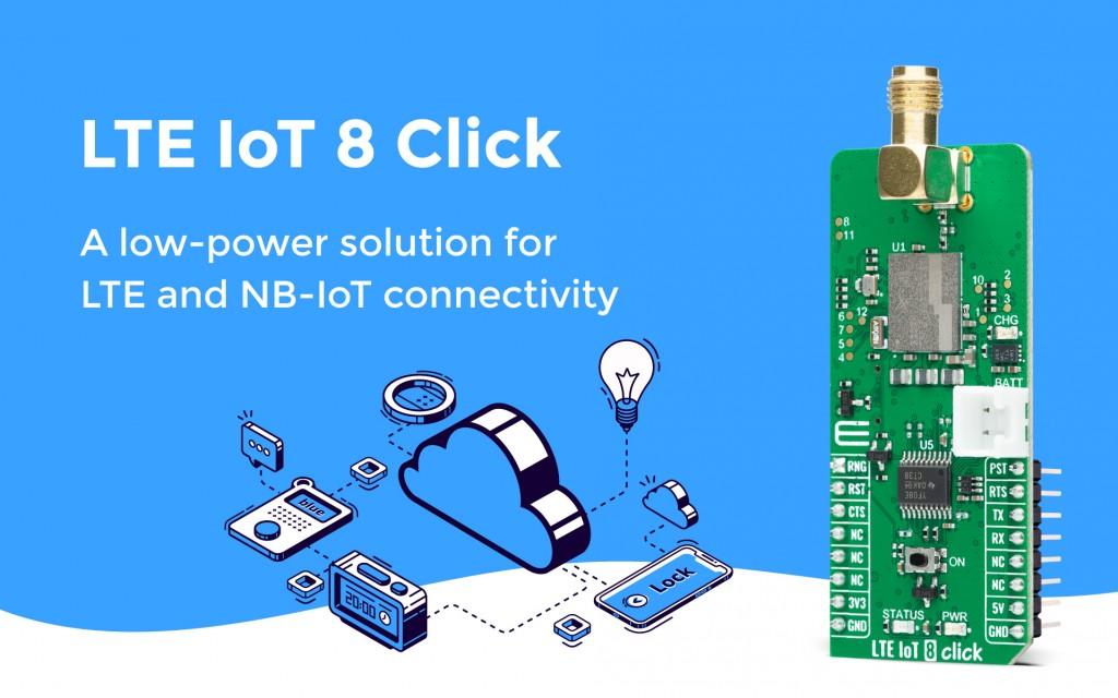 LTE IoT 8 Click