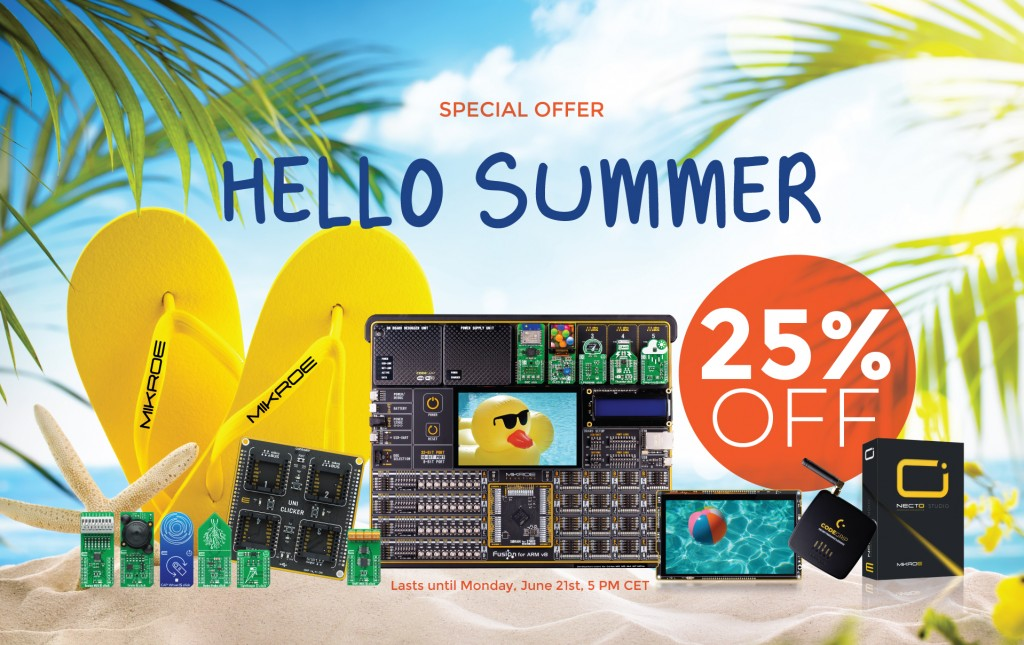 HELLO SUMMER: 25% OFF on 1900+ products