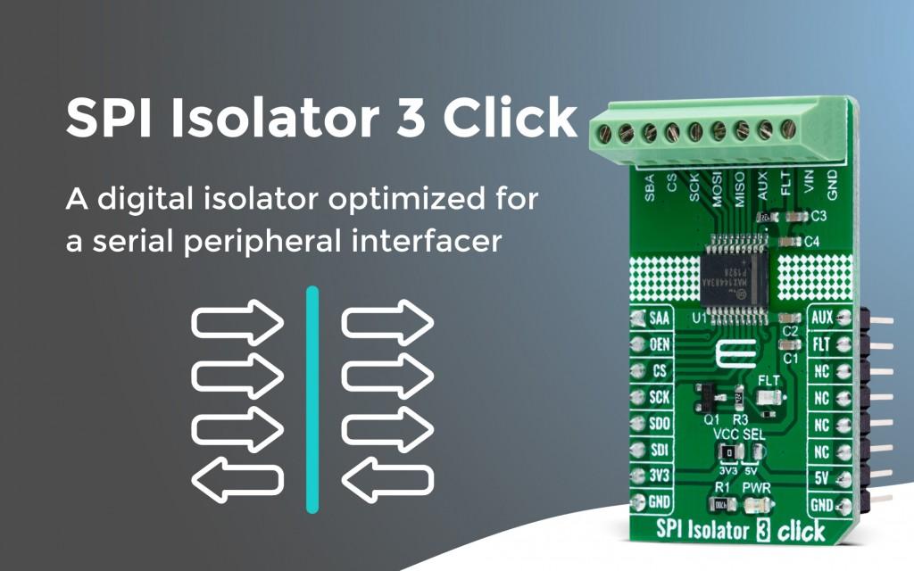 SPI Isolator 3 Click