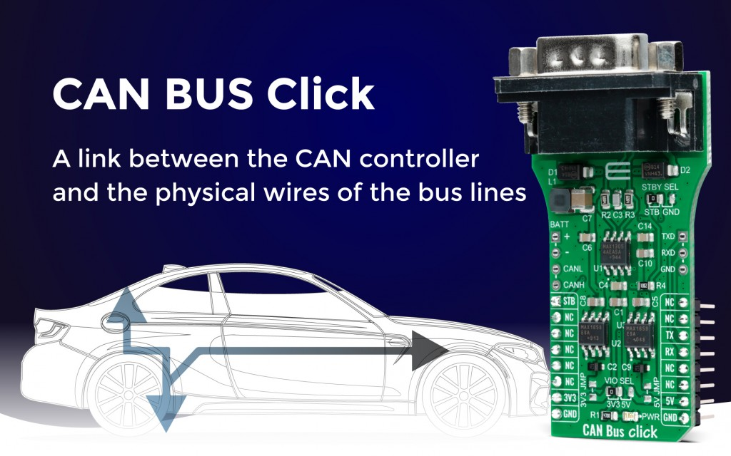 CAN Bus Click