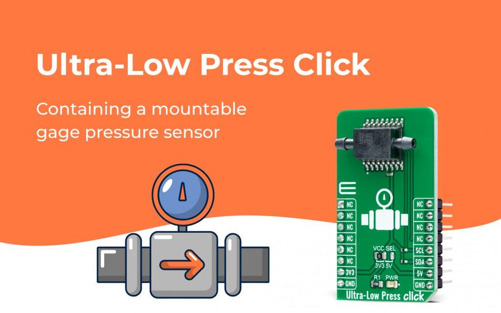 Ultra-Low Press Click