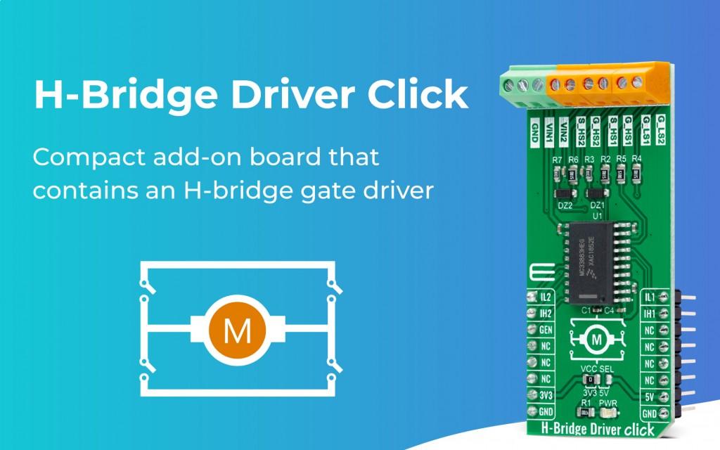 H-Bridge Driver Click