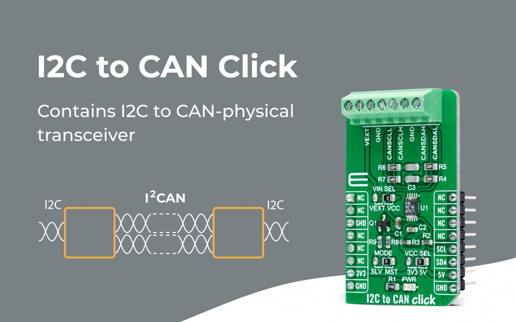 I2C to CAN Click
