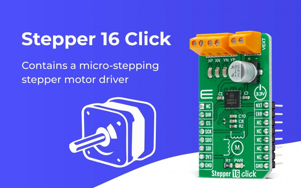 Stepper 16 Click