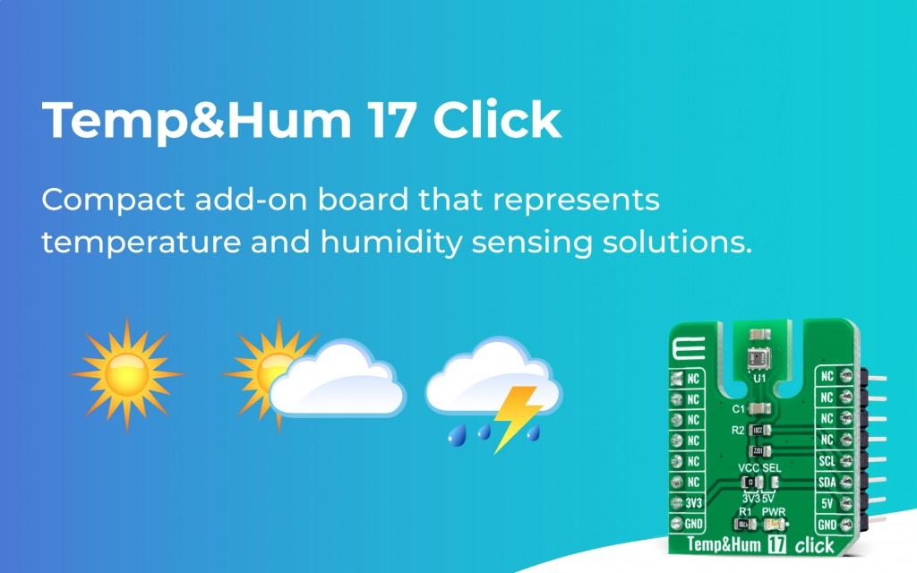 Temp&Hum 17 Click