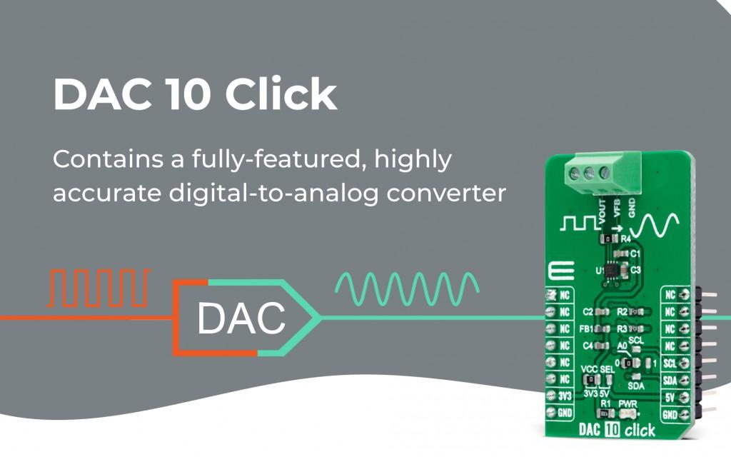 DAC 10 Click