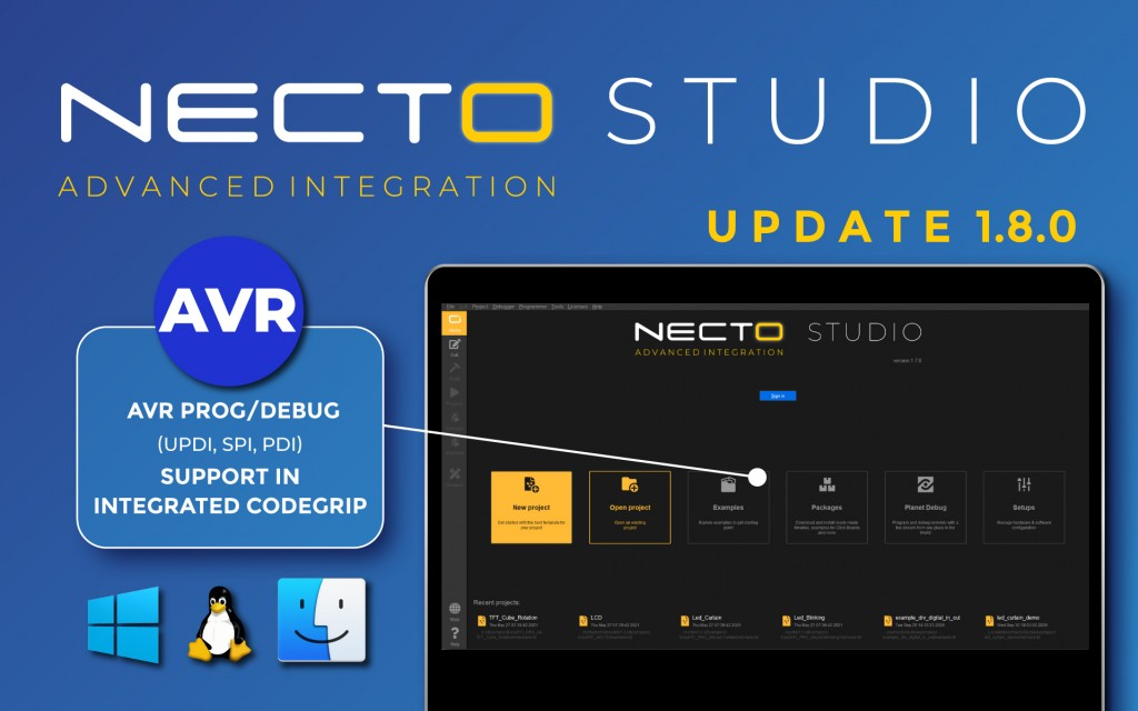 NECTO Studio update 1.8.0