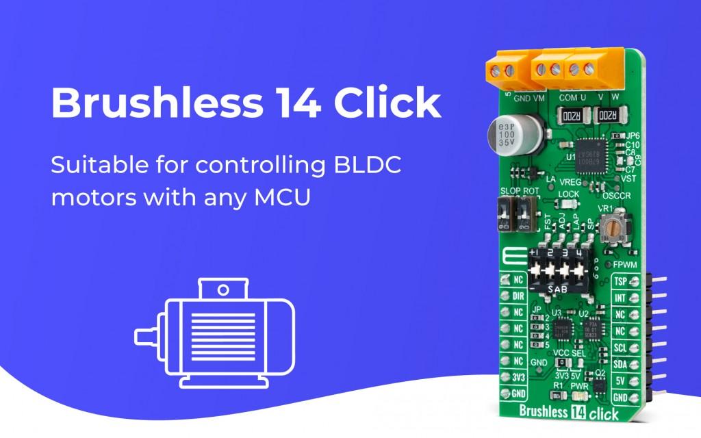 Brushless 14 Click
