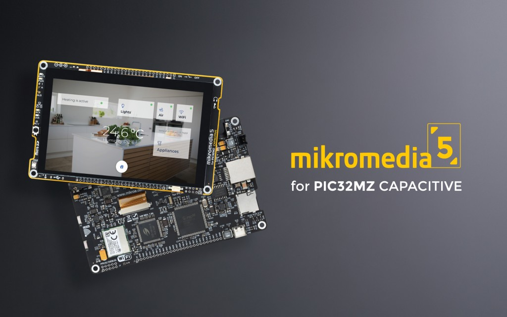 mikromedia 5 for PIC32MZ CAPACITIVE