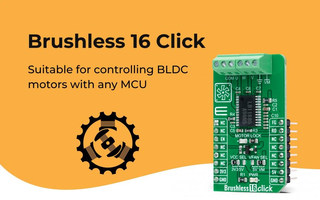 Brushless 16 Click
