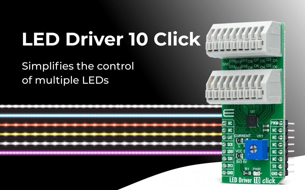 LED Driver 10 Click