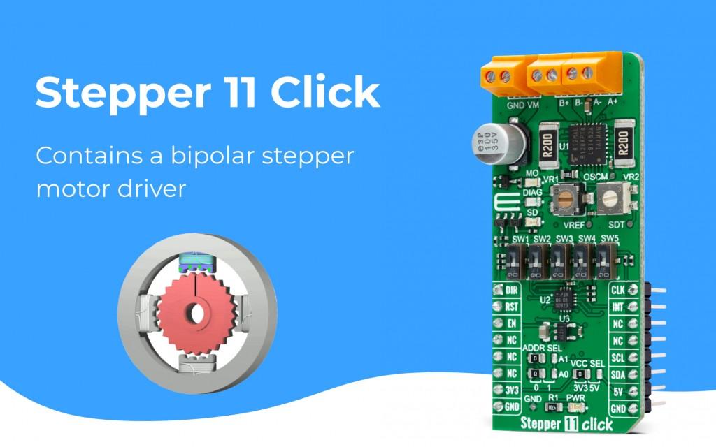 Stepper 11 Click