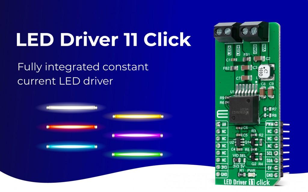 LED Driver 11 Click