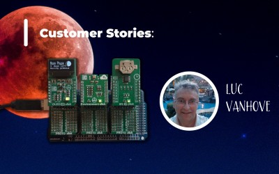 Customer Stories:  Father-daughter bonding  with Click boards™ :)