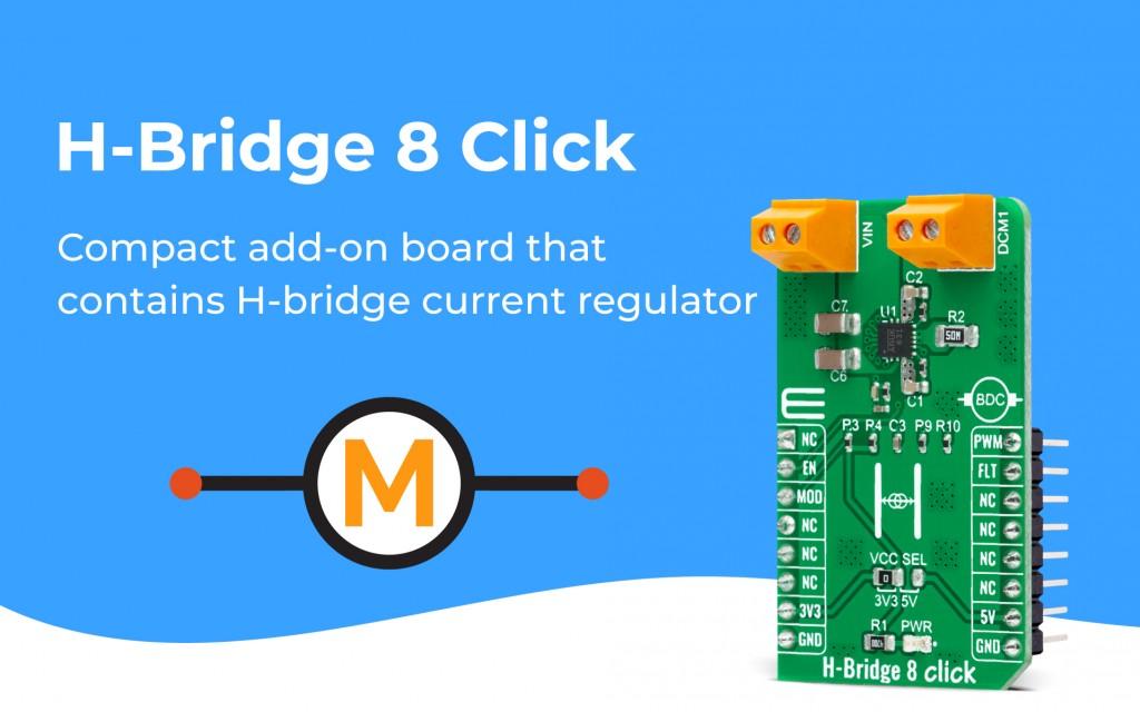 H-Bridge 8 Click