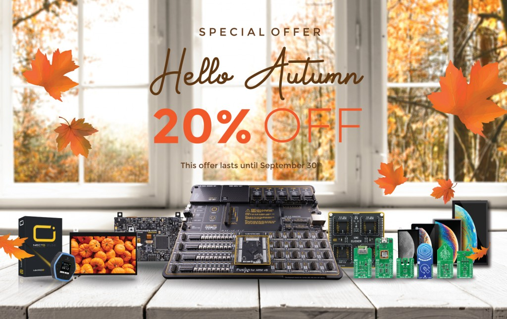 """""""Fall"""" into Autumn with 20% OFF :)"""