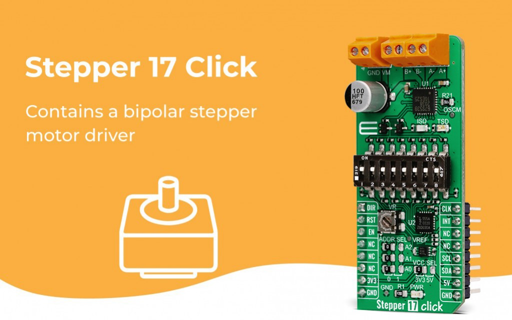 Stepper 17 Click