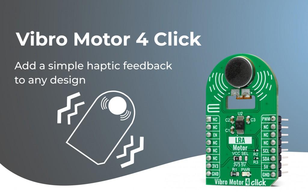 Vibro Motor 4 Click