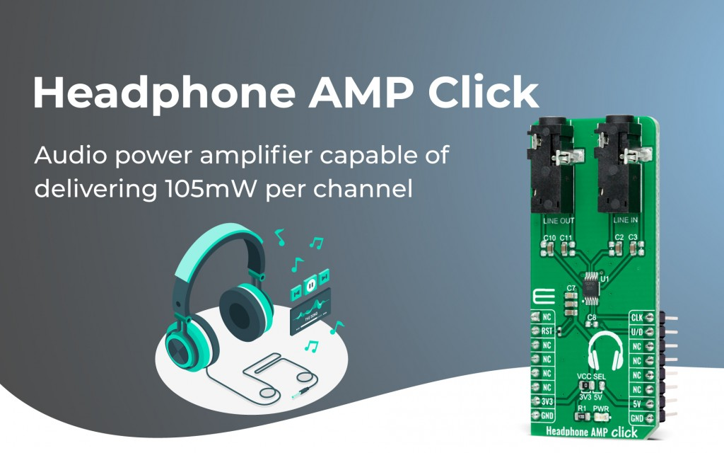 Headphone AMP Click