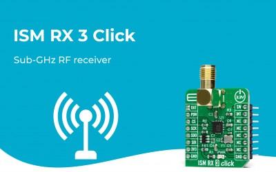 ISM RX 3 Click
