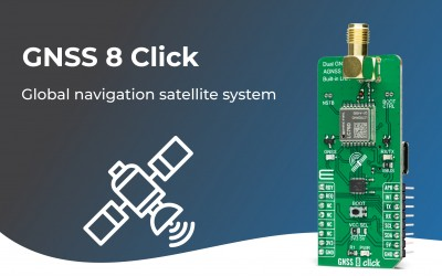 GNSS 8 Click