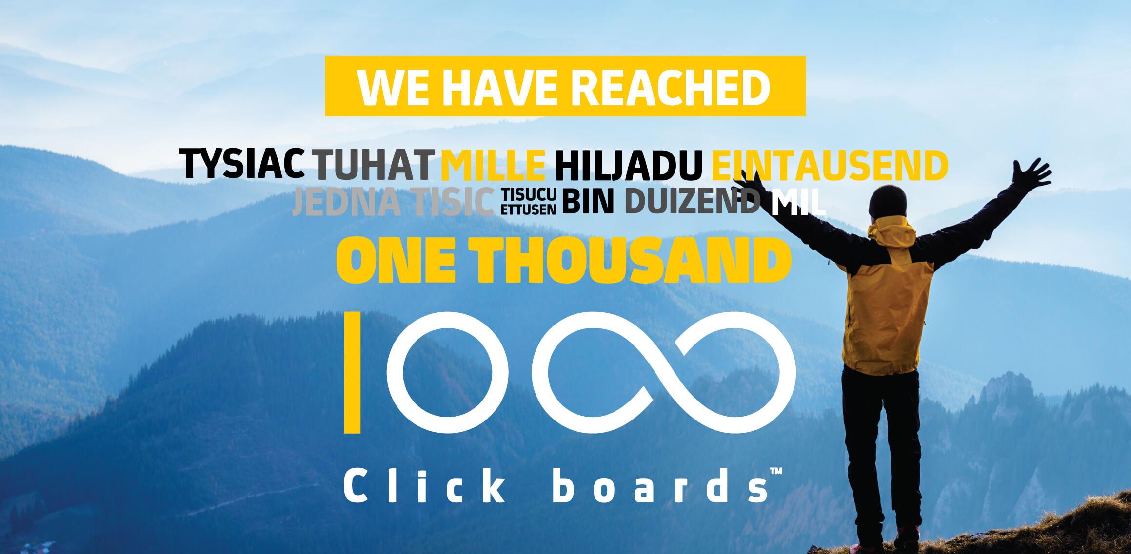 1000 Click boards™