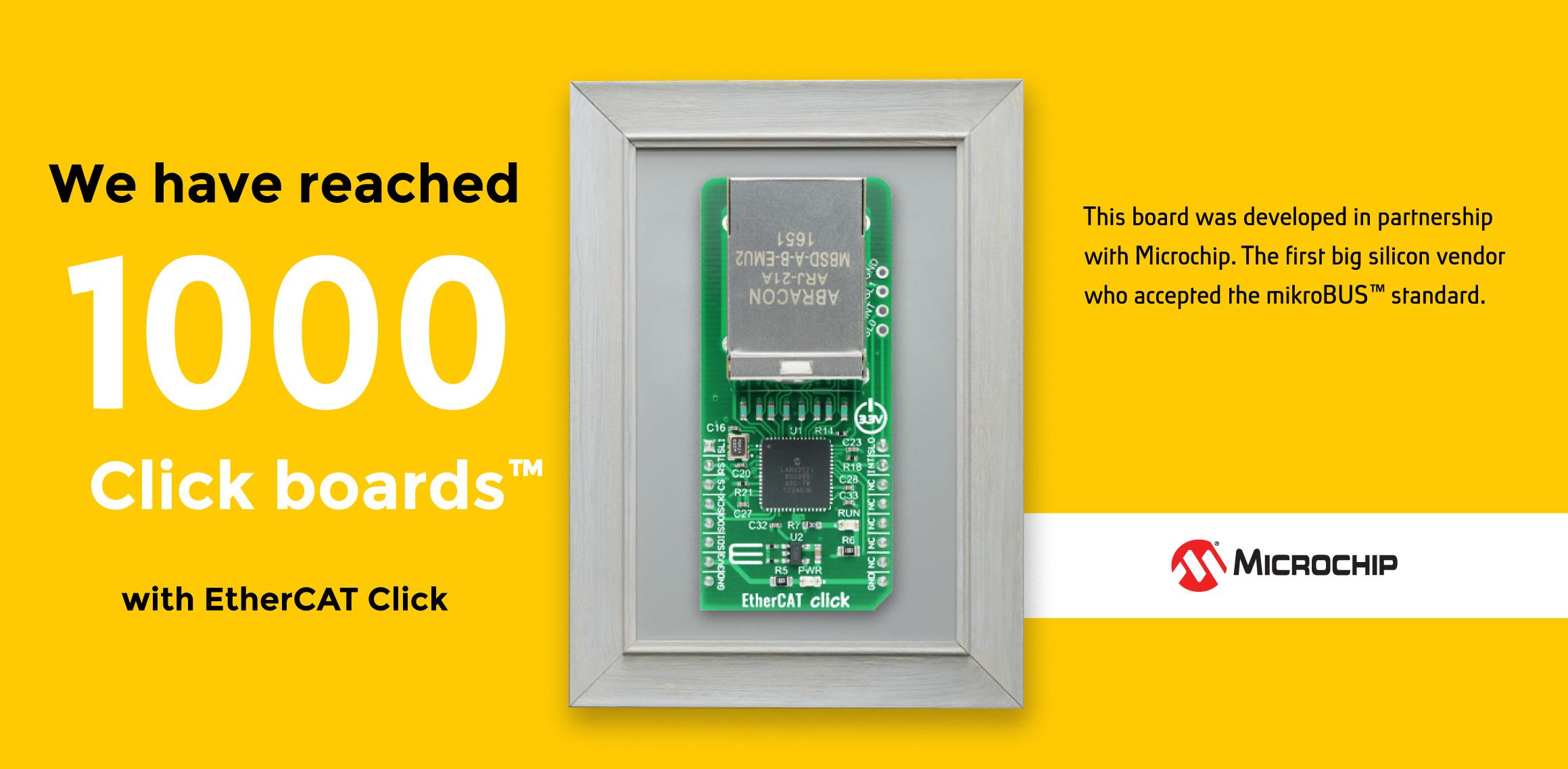 1000 click boards