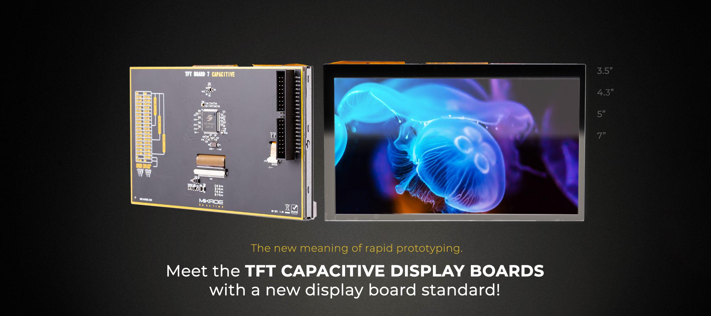 TFT Board Capacitive