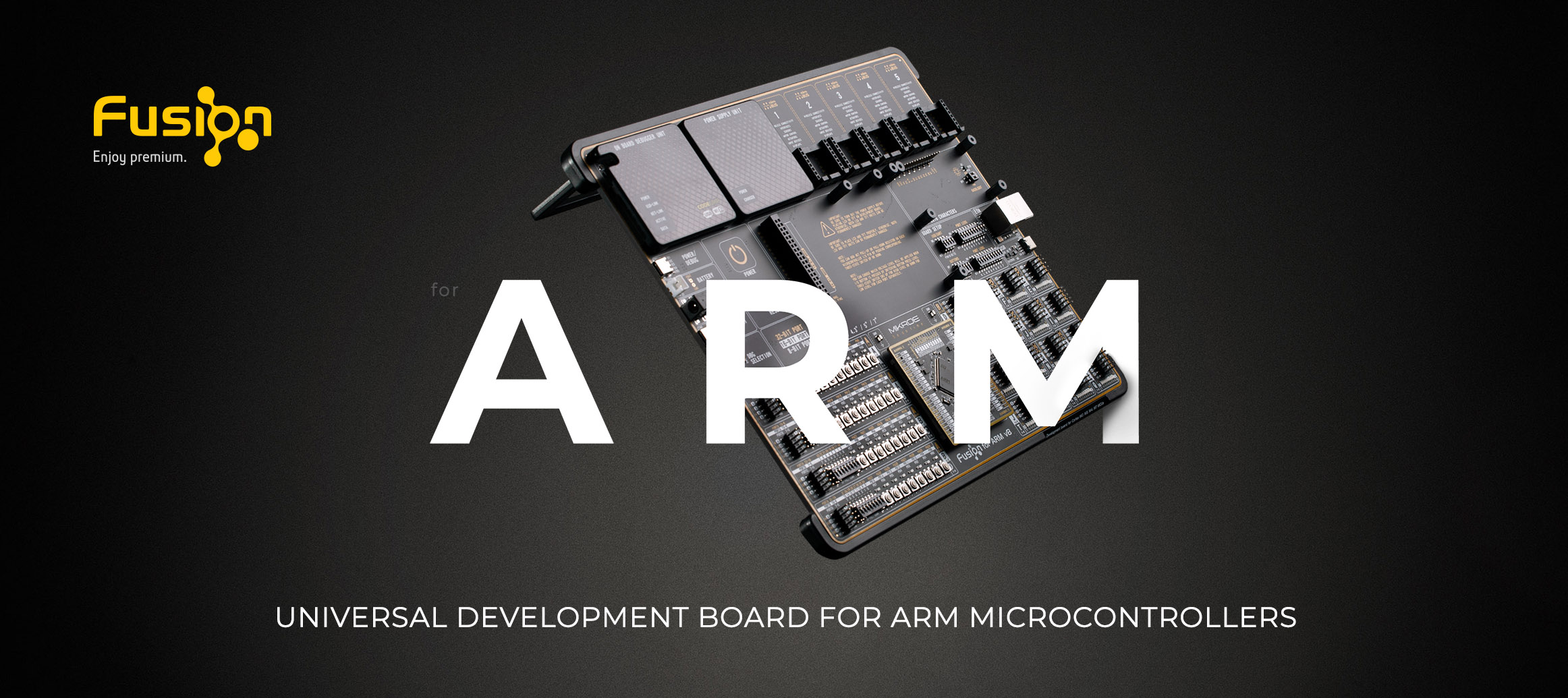 Fusion for Arm Development board