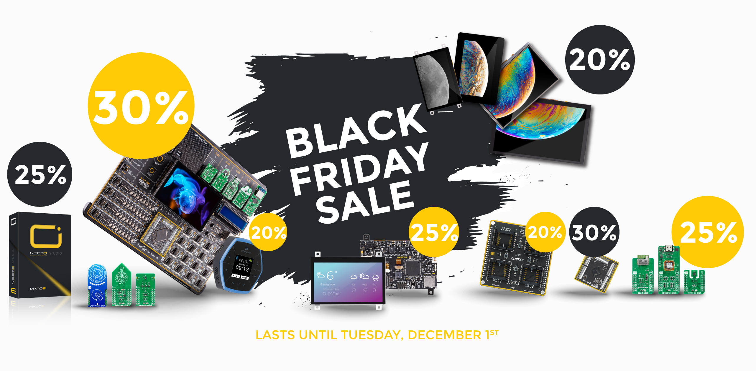 BIG BLACK FRIDAY SALE